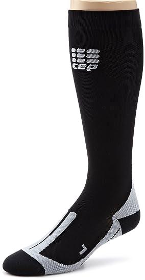 Nieve Calcetines Hombres calcetines de compresión CEP bicicleta, color negro, tamaño medium: Amazon.es: Deportes y aire libre