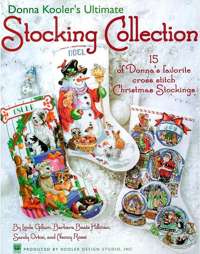 Leisure Arts ~ Herrschners ~ Festive Christmas Stockings