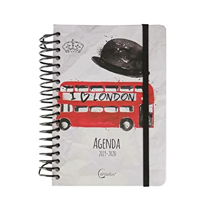 Agenda Escolar 2019-2020 14 X 17.5 Cm Español (LONDON A ...