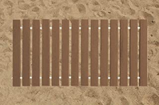 product image for Furniture Barn USA 2 Ft. Wide Roll-up Beach Walkway EverGrain Decking - Brown Weatherwood - 3 Ft. Length