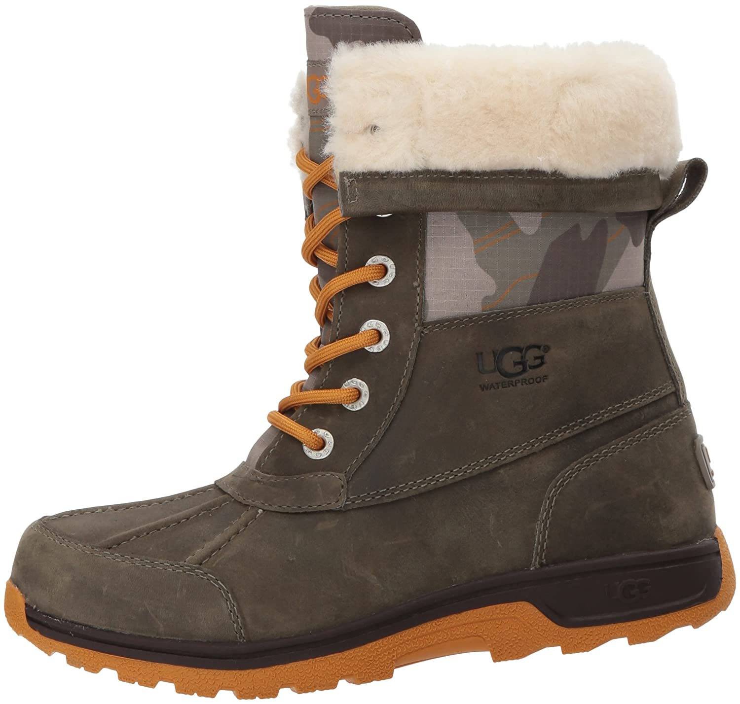 ee329d073b8 UGG Kids K BUTTE II CAMO Lace-Up Boots