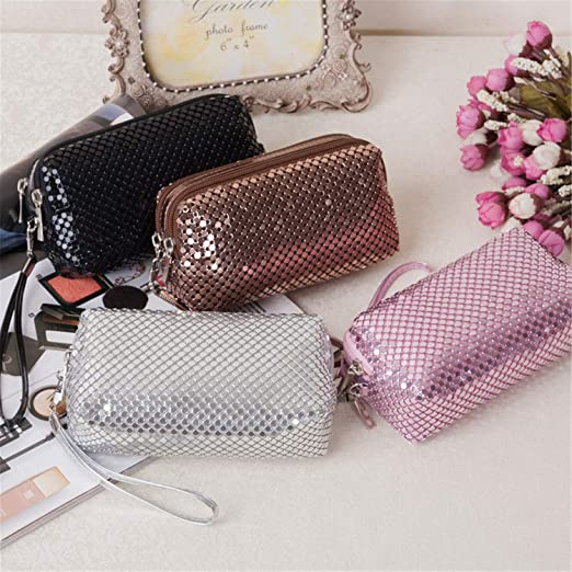 31f97b7f258f Amazon.com : XIAFEIMANTIAN NEW Women Cosmetic Makeup Bag Brand ...