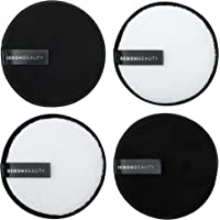 100% Reusable Makeup Eraser   4 Pack Large Eco Friendly Microfiber Makeup Remover Pads for Face Makeup   Perfect for…