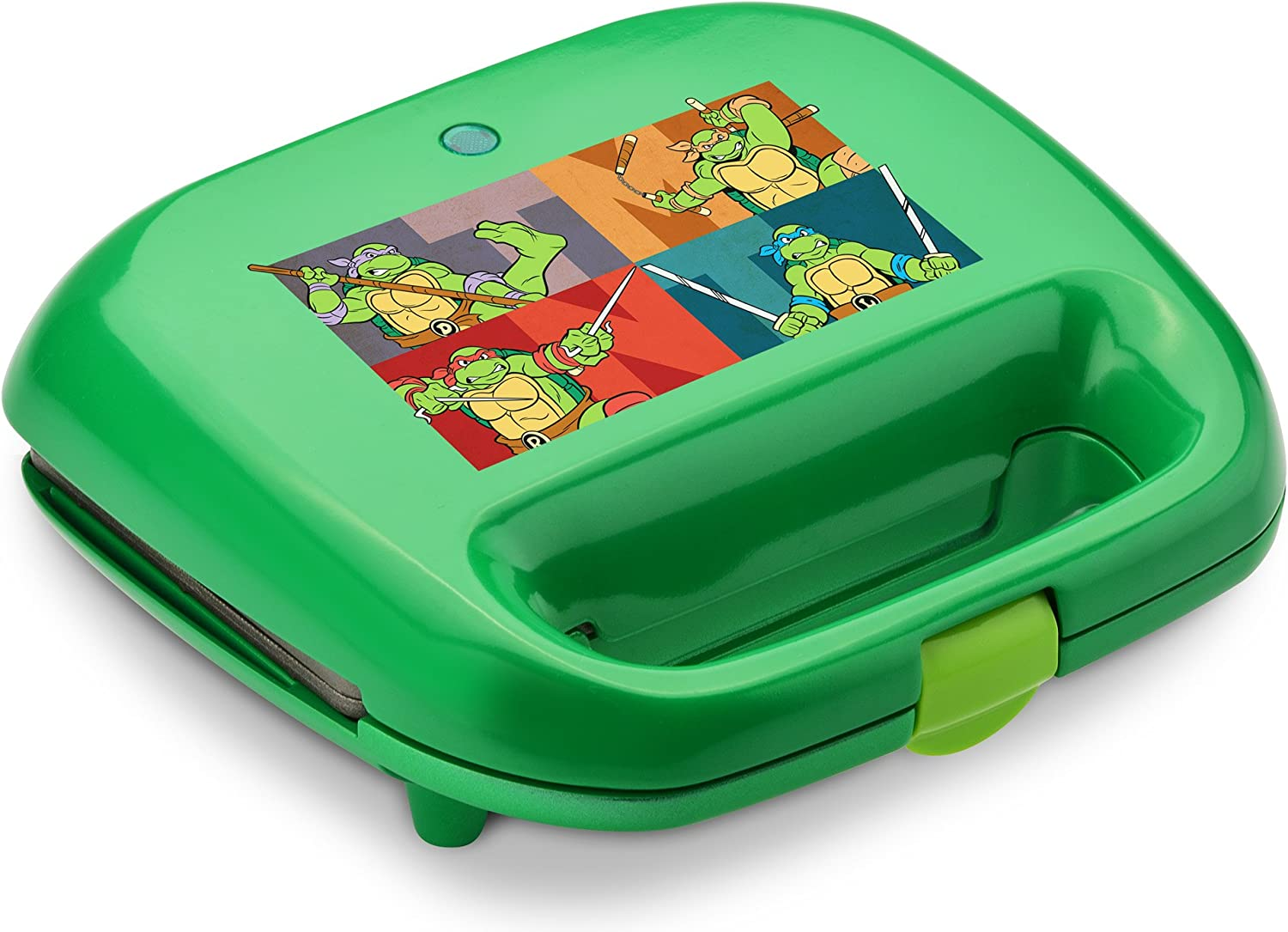 Nickelodeon NTWM-2 Teenage Mutant Ninja Turtles 2-Slice Waffle Maker, Green
