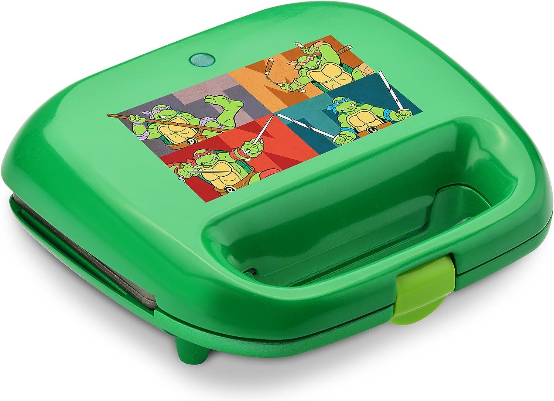 Nickelodeon NTWM-2 Teenage Mutant Ninja Turtles 2-Slice Waffle Maker, Green
