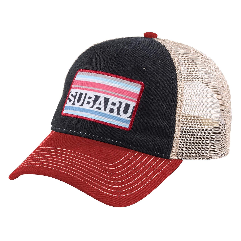 Amazon.com: Original de Subaru suave sombrero de malla gorra ...