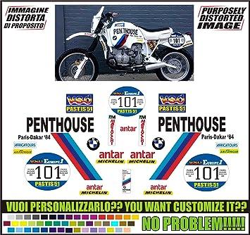 Kit Adesivi Decal Stickers Bmw R80 R100 Gs Replica Paris
