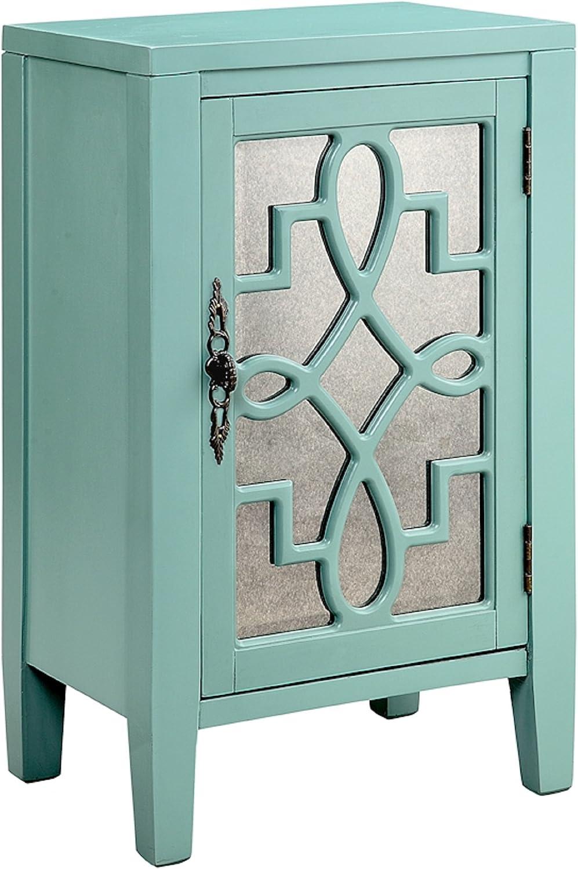 Amazon Com Stein World Leighton One Door Accent Cabinet Furniture Decor
