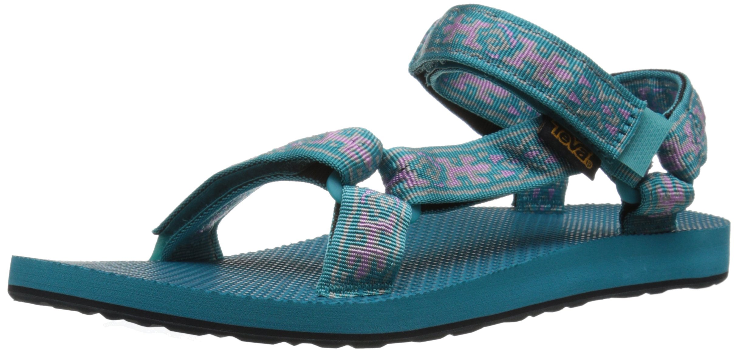 Teva Women's Original Universal Sandal, Old Lizard Lake Blue, 5 M US