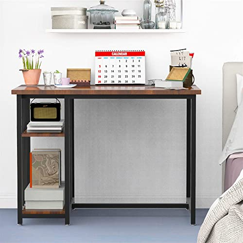STHOUYN Home Office Desk Small Writing Desk