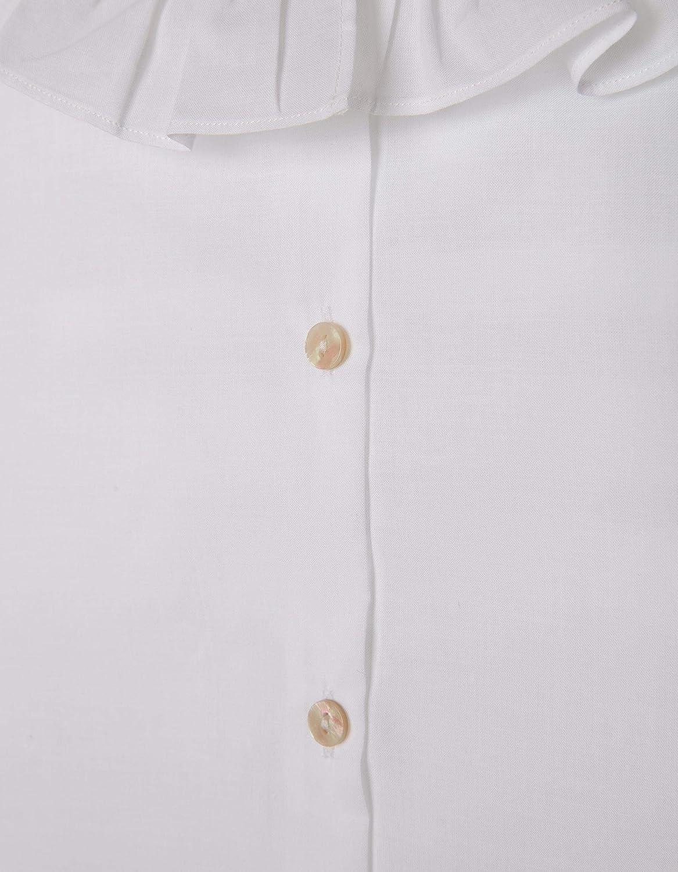 ZIPPY LS Blouse Voile Collar Ruffle