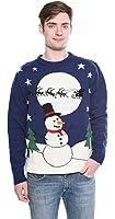 Snowman Sleigh Jumper