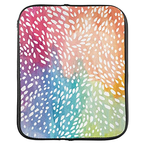 image relating to Erin Condron identify Erin Condren Medium Planner Folio - Multi-Coloured Painted Petals, Suitable for Preserving and Storing Your Planners and notebooks