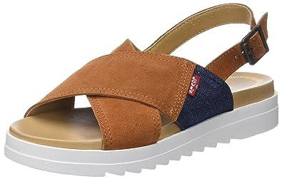 3b8faec3a3281 Levi s Persia, Tongs Femme  Amazon.fr  Chaussures et Sacs
