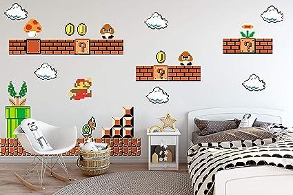 Amazing Nintendo Wall Graphics   Super Mario Bros