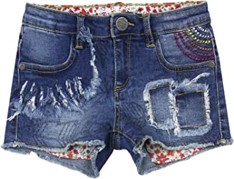 Desigual Girls Denim Short Trousers