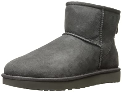cc963de1a8b375 UGG Damen Mini Classic Hohe Sneakers, Grau (Grey), 38 EU: Amazon.de ...