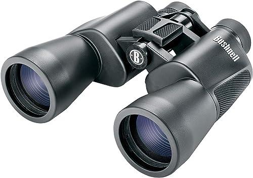 Powerview Binoculars, 12x50mm, BAK 7 Porro Prism, Black, 267 ft FOV 1000 yd