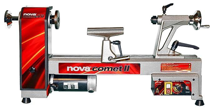 best wood lathe: NOVA 46300 Comet II Variable Speed Mini Lathe