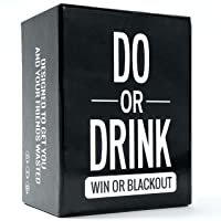 Do or Drink - Party Card Game - for College, Camping, 21st Birthday, Parties - Funny for Men & Women