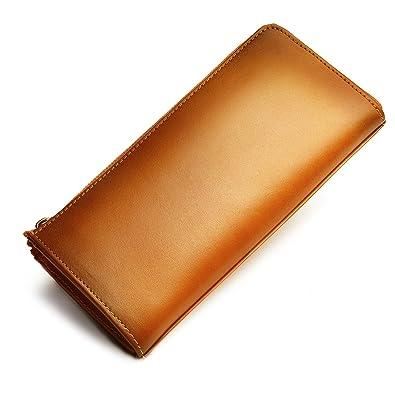 2e87242fb20c Amazon | oliver 本革 財布 長財布 メンズ レディース 熟練の革職人が ...