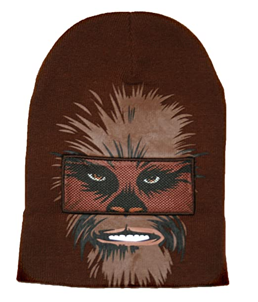 Star Wars Chewbacca Roll Down máscara gorro de invierno gorro