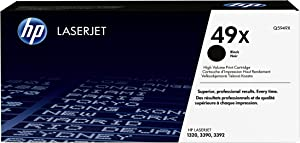 HP 49X | Q5949X | Toner Cartridge | Black | High Yield, Black (high yield), 1 pack