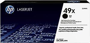 HP 49X | Q5949X | Toner Cartridge | Black | High Yield, Black (high yield), 1 pack