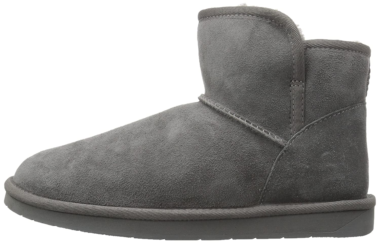 206 Collective Womens Bellevue Shearling Ankle Boot