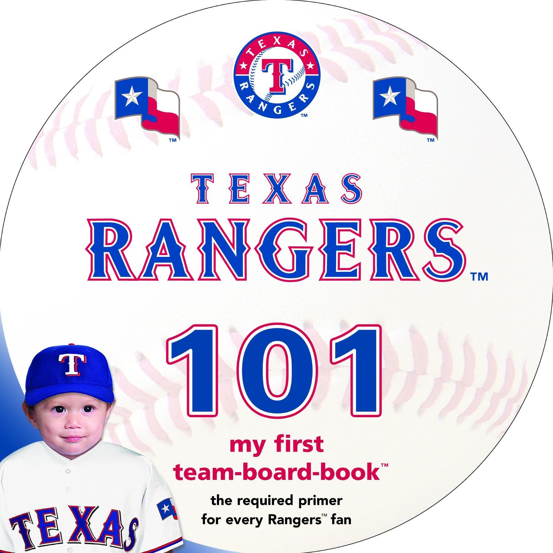 Read Online Texas Rangers 101: My First Team-Board-Book pdf epub