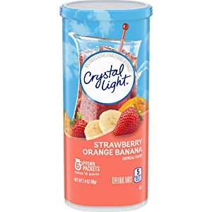 Crystal Light Lemonade Drink Mix (72 Pitcher Packets, 12 Packs of 6)