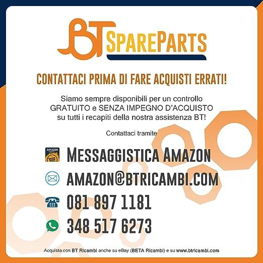 Par Kit Escobillas Limpiaparabrisas NLGI tamaños 610 x 560 mm para Smart Fortwo Coup año desde 01 - 2007 - Cambio cepillos tergi universales lavavetro Flat ...