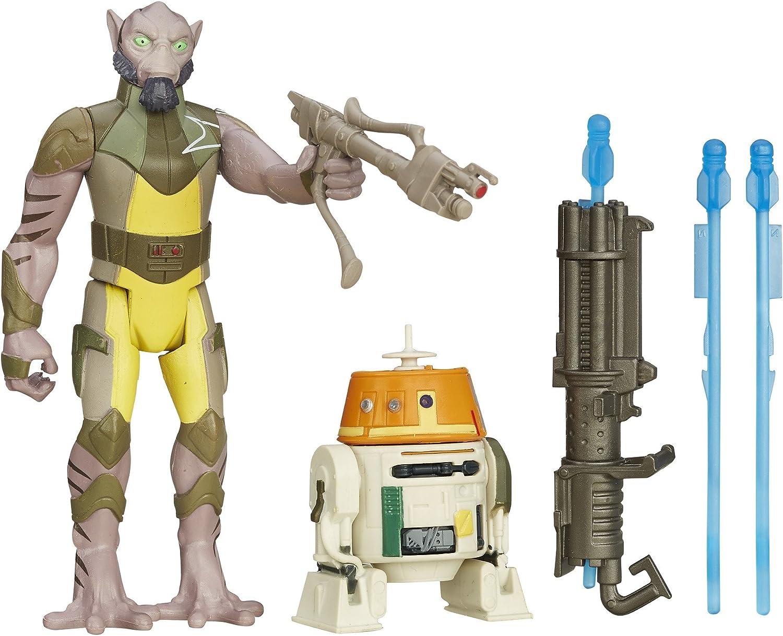 Star Wars Figura de Rebels y Garazeb Orrelios 3,75 Pulgadas Pack ...