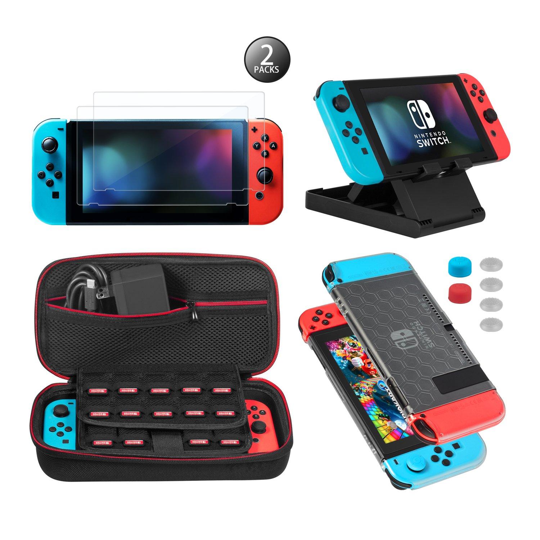 Keten kit de accesorios 13 en 1 para Nintendo Switch,...