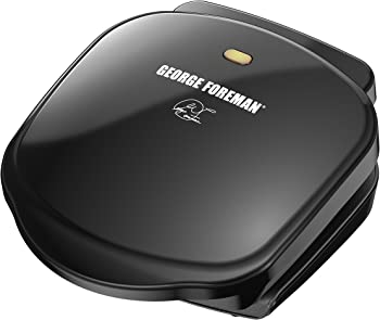 George Foreman GR10B 2-Serving Classic Plate Grill