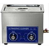 Jakan 10 L en acier inoxydable Machine à laver Nettoyeur à Ultrasons 220 V printhed Nettoyant pour pièces de nettoyage comme cylindre carburant injecteurs ou Imprimante avec chauffage et minuterie.