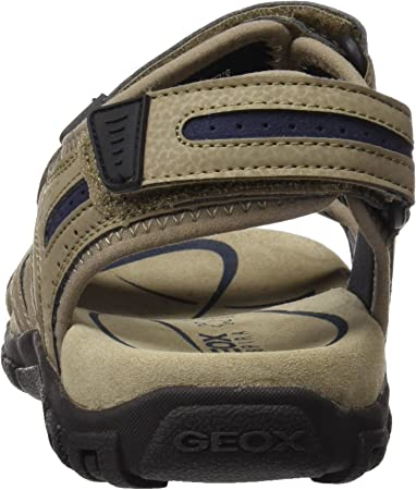 Geox Uomo Sandal Strada D, Sandalia con Pulsera para Hombre