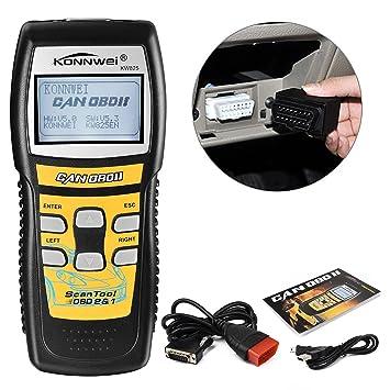 kiwitatá Car OBD2 Scan Tool, OBDii Scanner CAN Bus Code Reader