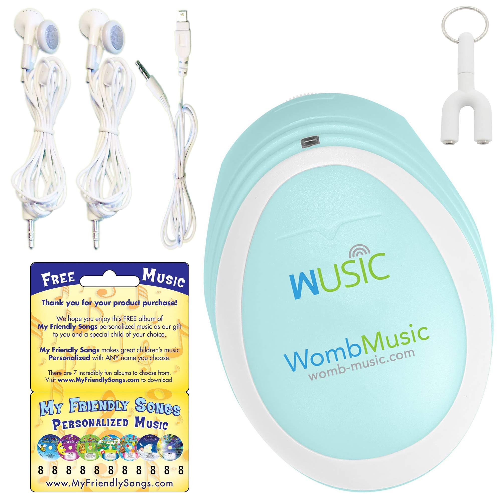 Listen to The Sounds Your Baby Makes with The Womb Music by Wusic - It's Like Music to a Mommy's Ears!