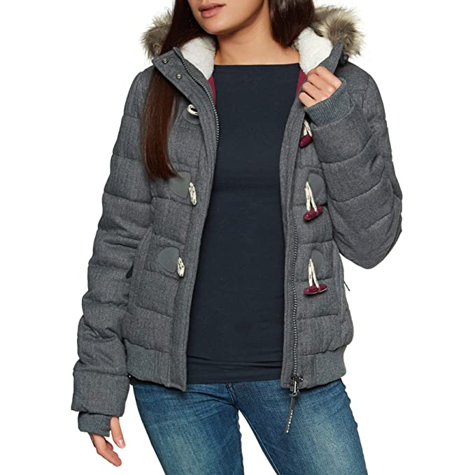 Amazon.com: Superdry Marl Toggle Puffle Jacket, XS: Clothing