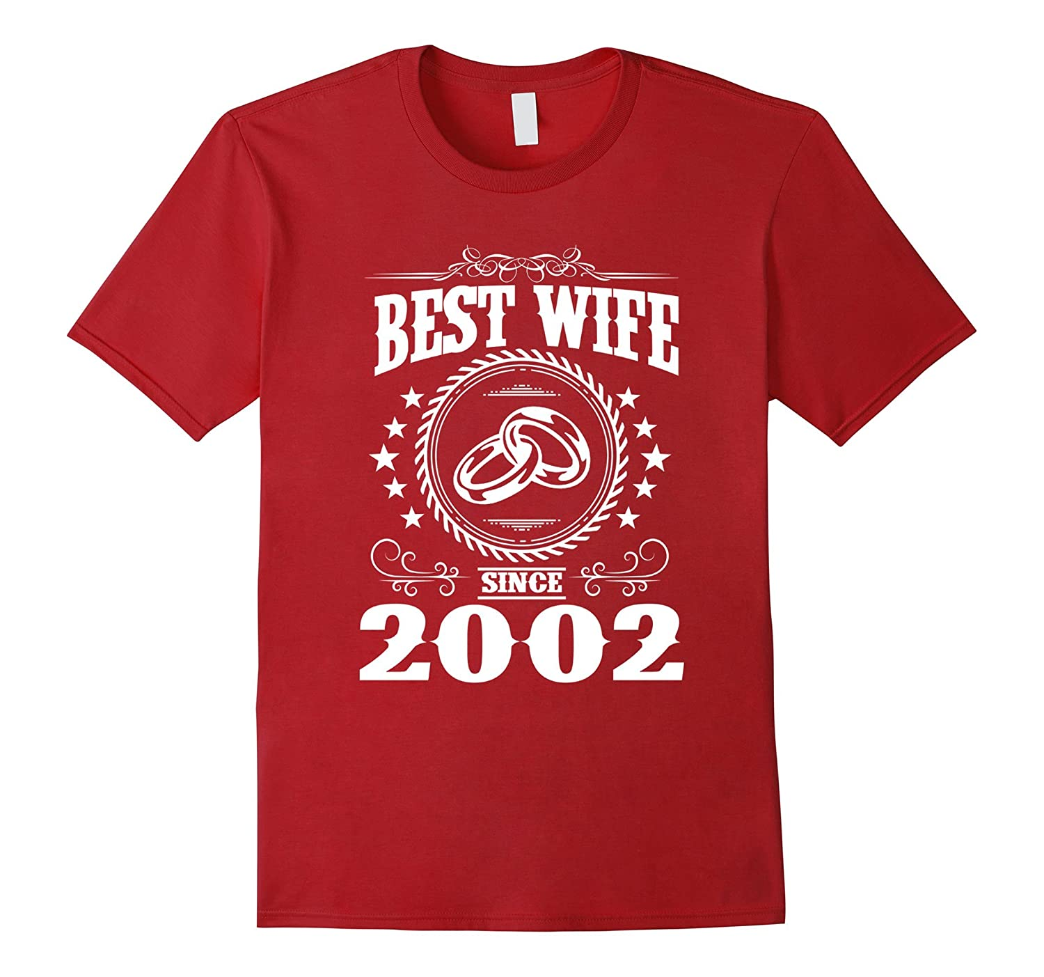 15th Wedding Anniversary T-Shirts For Wife From Husband-PL