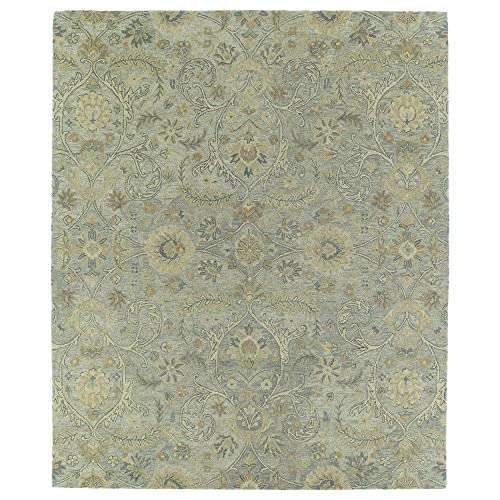 Kaleen Helena Collection Hand Tufted Area Rug, 9 x 12 , Silver