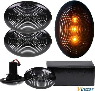 Vinstar 2 indicatori di direzione a LED fum/é