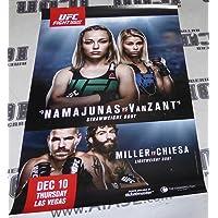 Paige VanZant Signed UFC Fight Night 80 27x39 Poster v Rose Namajunas Autograph - Autographed UFC Event Poster photo
