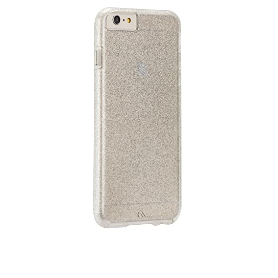 separation shoes 66b5d f1097 Case-Mate iPhone 6 Plus Case-Mate Sheer Glam Case - Retail Packaging -  Champagne