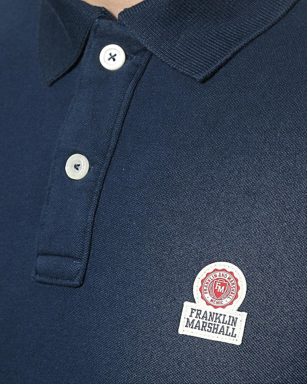 Franklin & Marshall - Polo Azul Azul Marino: Amazon.es: Ropa y ...