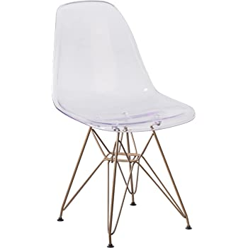 Amazon Com Greenforest Acrylic Dining Side Chairs Lucite