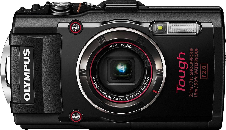 Amazon.com : Olympus TG-4 16 MP Waterproof Digital Camera with 3-Inch LCD  (Black) : Camera & Photo