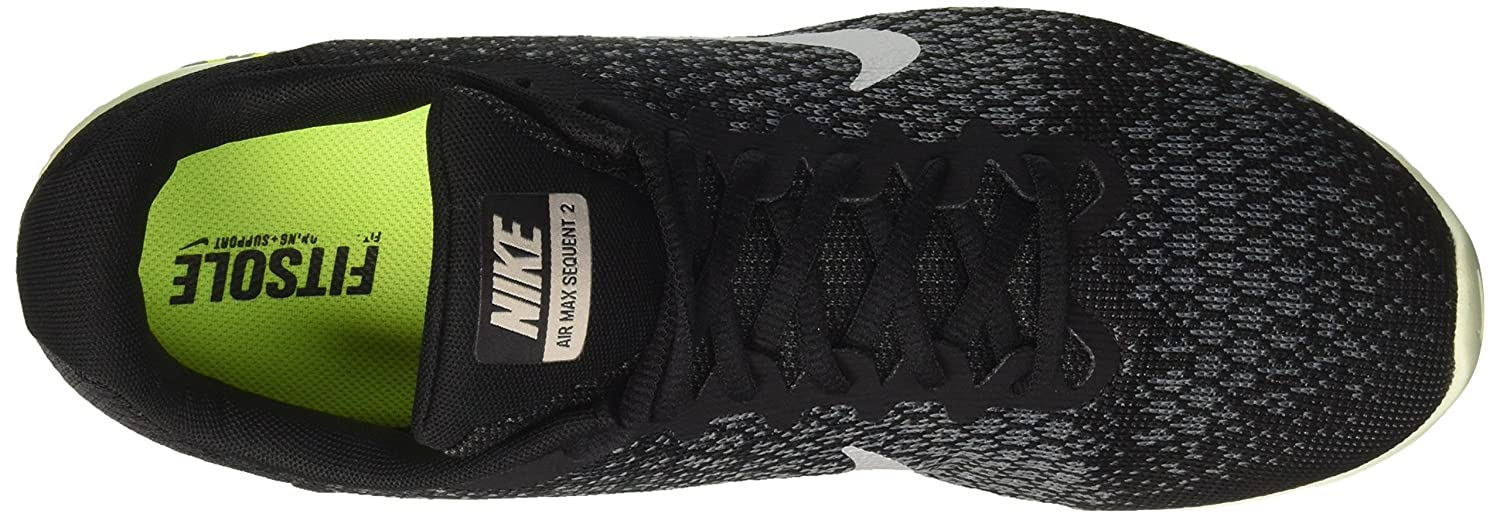 NIKE Men's Air Max Sequent 8 2 Running Shoe B01MDV71V1 8 Sequent D(M) US|Black/Mtlc Cool Grey 47288a