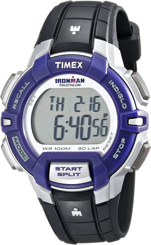 Timex Women s T5K8129J Ironman Rugged 30 Digital Display Quartz Black Watch